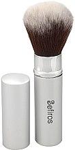 Profumi e cosmetici Pennello trucco - Sefiros Silver Retractable Brush