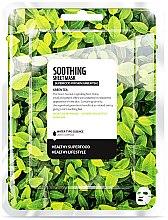 Profumi e cosmetici Maschera in tessuto lenitiva - Farmskin Superfood For Skin Soothing Sheet Mask
