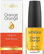 Profumi e cosmetici Olio per unghie e cuticole - Kinetics Orange Cuticle Oil