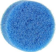 Profumi e cosmetici Spugna doccia anticellulite, tonda, blu - Inter-Vion