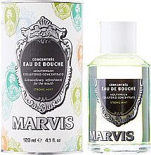 Profumi e cosmetici Collutorio - Marvis Concentrate Strong Mint Mouthwash
