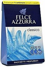 "Profumi e cosmetici Bustina aromatica ""Classic"" - Felce Azzurra Sachets Classic"