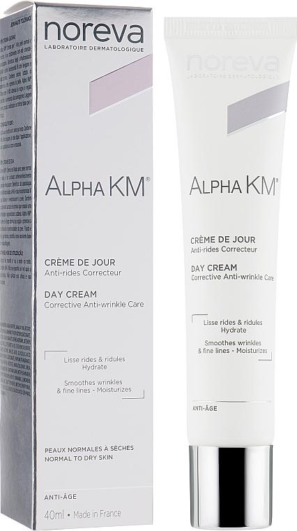 Crema correttiva antietà per pelli normali e secche - Noreva Laboratoires Alpha KM Corrective Anti-Ageing Treatment Normal To Dry Skins