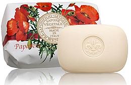 """Profumi e cosmetici Sapone naturale """"Papavero"""" - Saponificio Artigianale Fiorentino Poppy Soap"""