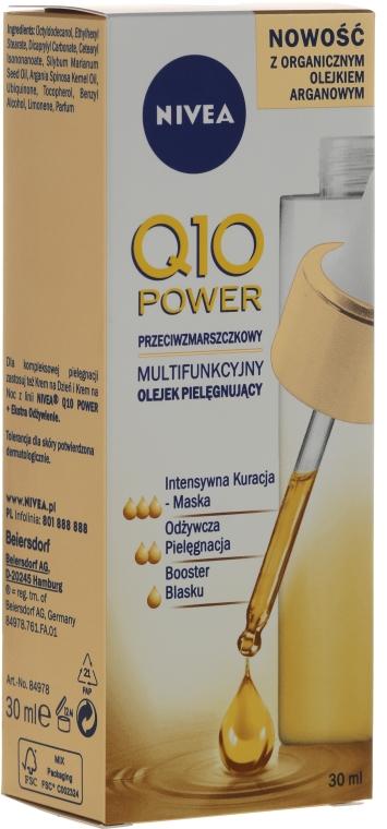 Olio antirughe - Nivea Visage Q10 Power Extra