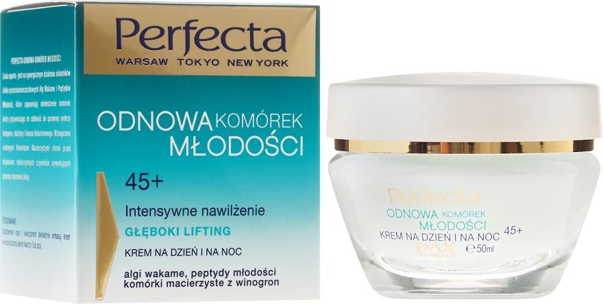"Crema viso idratante intensiva ""Lifting profondo"" - Dax Cosmetics Day/Night Face Cream 45+"