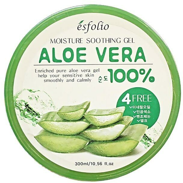 Gel idratante all'aloe vera - Esfolio Moisture Soothing Gel Aloe Vera 100% Purity