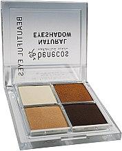 Profumi e cosmetici Palette ombretti - Benecos Natural Quattro Eyeshadow