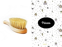 Profumi e cosmetici Set - LullaLove Princess (hair brush + muslin)