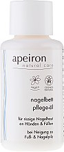 Profumi e cosmetici Olio mani e unghie - Apeiron Nail Bed Oil