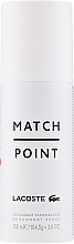 Profumi e cosmetici Lacoste Match Point - Deodorante spray