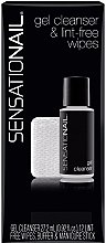 Profumi e cosmetici Set - SensatioNail Gel Cleanser & Wipes (clinser/27.2ml+wipes+nail/buffer+manicure/stick)