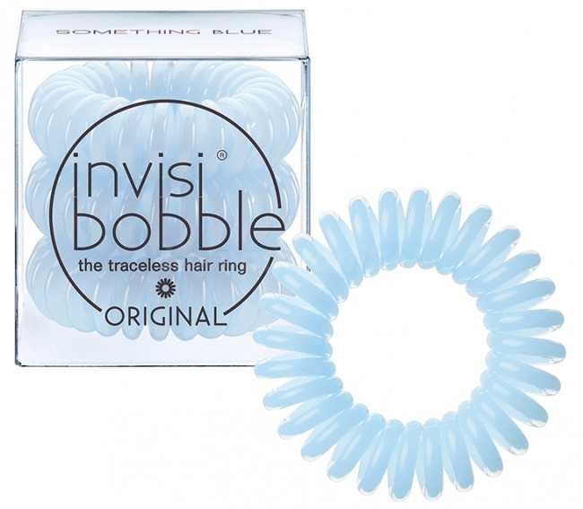 Elastici a spirale per capelli - Invisibobble Something blue — foto N1