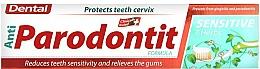Profumi e cosmetici Dentifricio per denti sensibili - Dental Anti-Parodontit Sensitive 7 Herbs