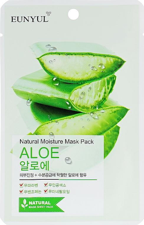 Maschera in tessuto idratante all'aloe vera - Eunyul Natural Moisture Mask Pack Aloe