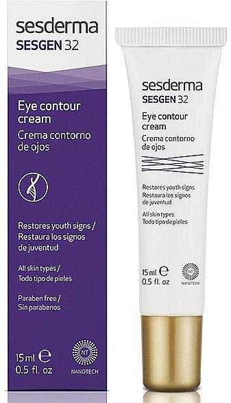 Crema modellante contorno occhi - SesDerma Laboratories Sesgen 32 Eye Contour Cream — foto N1