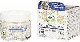 Crema viso anti-rughe, da notte - So'Bio Etic Fleur D'immortelle Anti-Wrinkle Night Cream — foto N1