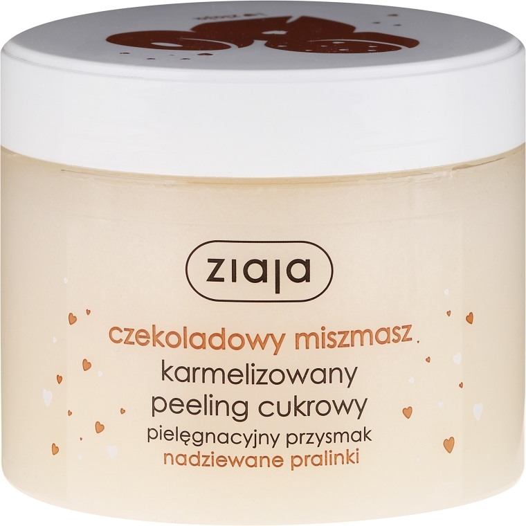 "Peeling allo zucchero ""Chocolate Praline"" - Ziaja Sugar Body Peeling"
