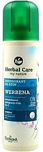"Profumi e cosmetici Deodorante per piedi e scarpe ""Verbena "" - Farmona Herbal Care Foot Spray"