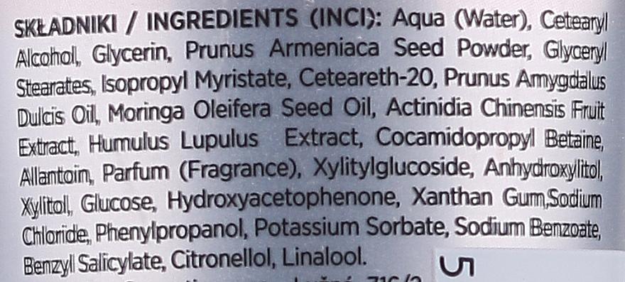 "Peeling viso ""Olio di albicocche e mandorle"" - Eveline I Love Vegan Food Face Peeling — foto N2"