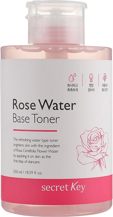 Tonico all'acqua di rose - Secret Key Rose Water Base Toner