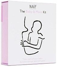 Profumi e cosmetici Set - Naif Baby & Mom Kit (b/oil/100ml + b/cr/75ml + h/cr/75ml)