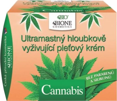Crema viso ultranutriente - Bione Cosmetics Cannabis Ultra Greasy Deeply Nourishing Cream