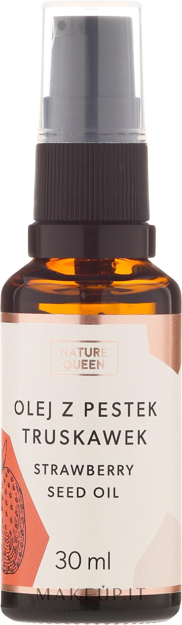 Olio di semi di fragola - Nature Queen Strawberry Seed Oil — foto 30 ml