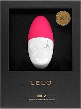 Profumi e cosmetici Vibratore musicale per donna, ciliegia - Lelo Siri 2 Cerise