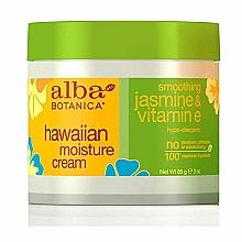 Profumi e cosmetici Crema viso idratante con vitamina E e gelsomino - Alba Botanica Natural Hawaiian Moisture Cream Smoothing Jasmine & Vitamin E