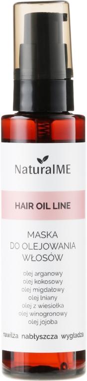 Maschera-spray per capelli danneggiati - NaturalME Hair Oil Line