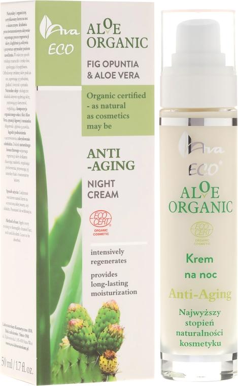 Crema viso - Ava Laboratorium Aloe Organiic Night Cream