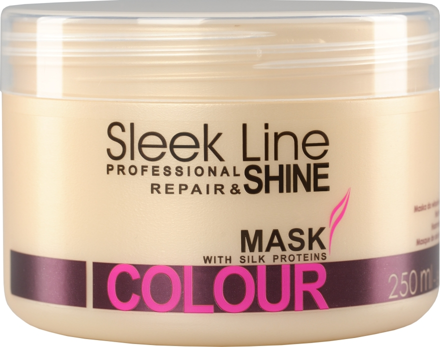 Maschera capelli - Stapiz Sleek Line Colour Hair Mask