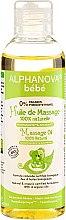 Profumi e cosmetici Olio da massaggio per bambini e neonati - Alphanova Bebe Massage Oil 100% Natural