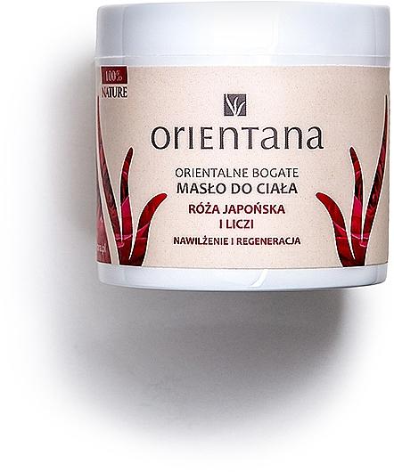"""Olio per corpo """"Rosa giapponese e litchi"""" - Orientana Rose Body Butter — foto N1"""