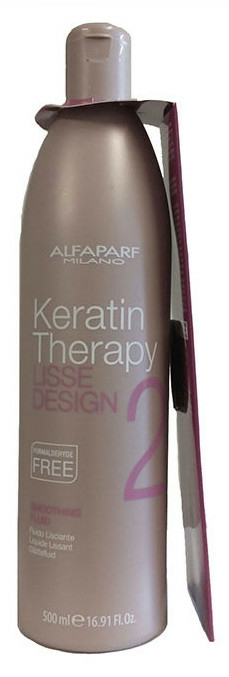 Fluido lisciante alla cheratina - Alfaparf Lisse Design Keratin Smoothing Fluid
