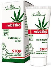 Profumi e cosmetici Crema lenitiva per pelli sensibili e irritate, per bambini - Cannaderm Robatko