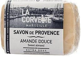 """Profumi e cosmetici Sapone provenzale """"Mandorla dolce"""" - La Corvette Provence Sweet Almond"""