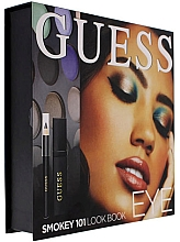 Profumi e cosmetici Set - Guess Beauty Smokey 101 Eye Lookbook (mascara/4ml + eyeliner/0.5g + 12xeye/sh/1.96g)