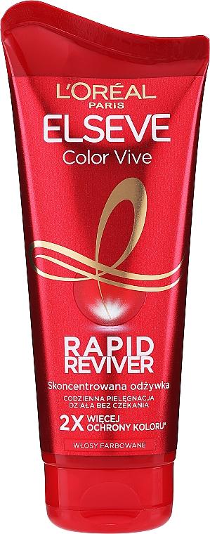 Balsamo per capelli colorati - L`Oreal Paris Elseve Rapid Reviver Dry Hair Conditioner