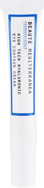 Crema contorno occhi con acido hialuronico - Beaute Mediterranea High Tech Hyaluronic Eye Contour Cream — foto N2
