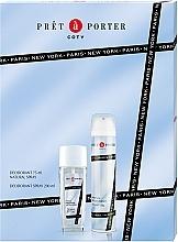 Profumi e cosmetici Coty Pret-a-Porter - Set (deo/spray/75ml+deo/200ml)