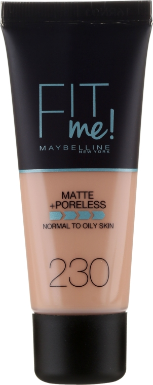 Fondotinta per pelli grasse e miste. - Maybelline Fit Me Matte Poreless Foundation