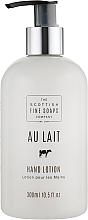 Profumi e cosmetici Lozione mani - Scottish Fine Soaps Au Lait Hand Lotion