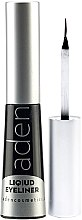 Profumi e cosmetici Eyeliner impermeabile - Aden Cosmetics Liquid Eyeliner