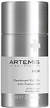Profumi e cosmetici Deodorante antitraspirante roll-on  - Artemis of Switzerland Men Deodorant Roll-On Anti-Transpirant