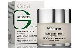 Profumi e cosmetici Crema rigenerante di notte - Gigi Recovery Restoring Night Cream