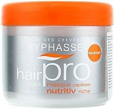 Profumi e cosmetici Maschera nutriente per capelli secchi - Byphasse Hair Pro Mask Nutritiv Riche