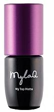 Profumi e cosmetici Top per smalto gel - MylaQ My Top Matte