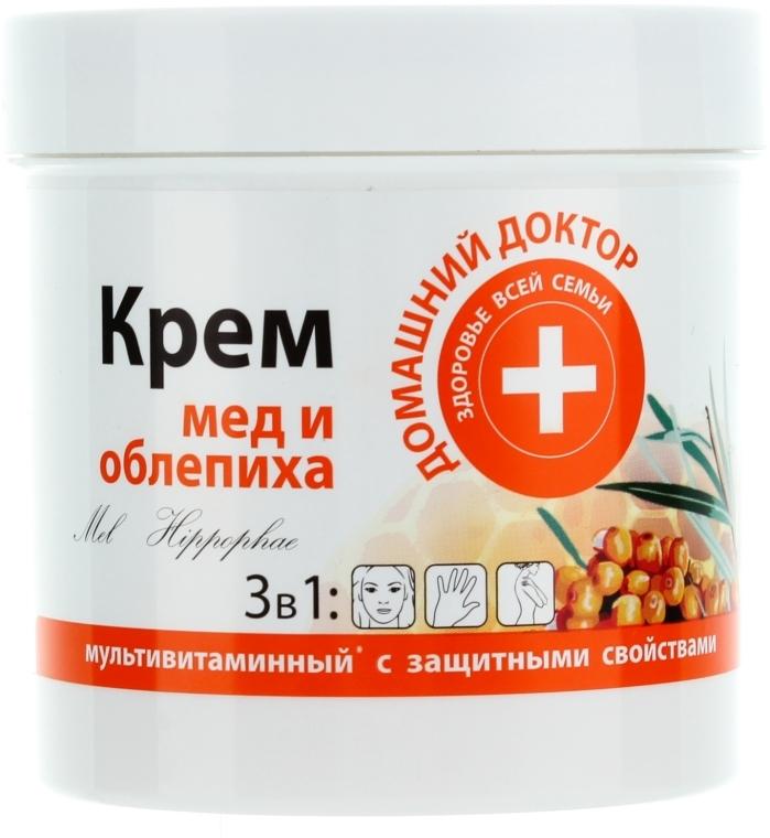 Crema al miele e olivello spinoso - Domashnyi Doctor